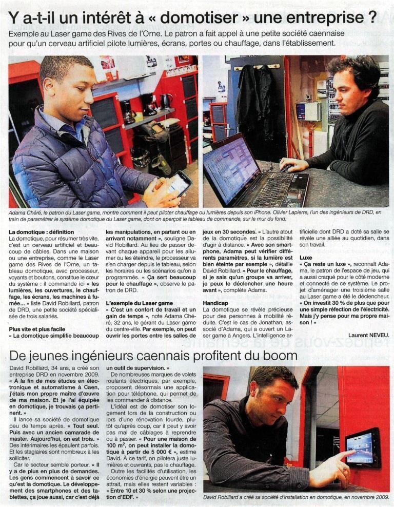 DRD Domotique Ouest France